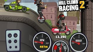 Hill Climb Racing 2  -All Yesterday Featured Challenges | Formula Bundle | Monowheel  | Scooter