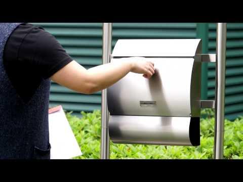 JAGO Stainless Steel Letterbox BRKS01-BRKS06