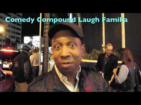 Comedian Jay Phillips at the Comedy Store