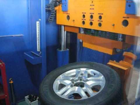 Проверка прочности WSP Italy W1759 BRASIL на удар обода (Toyota)