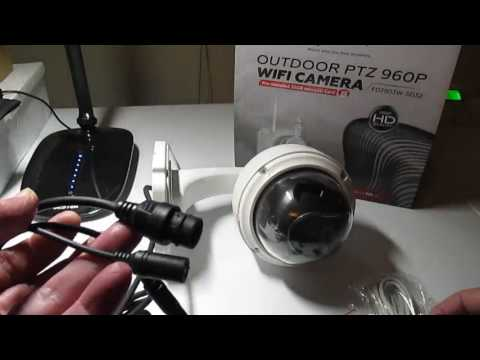 FDT Outdoor PTZ 4x Optical Zoom HD 960p WiFi IP Camera Review