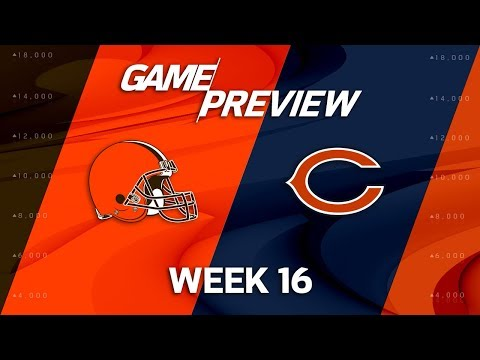 Video: Cleveland Browns vs. Chicago Bears | NFL Week 16 Game Preview | NFL