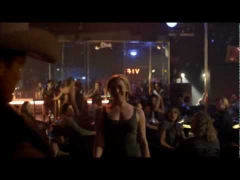 Katee Sackhoff - sexy deputy Katee stripping to get info on a suspect.