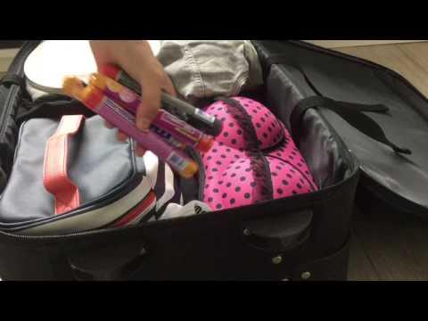 Koffer in pakken voor school kamp ❤️