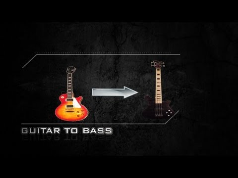 How To Make A Guitar Sound Like A Bass