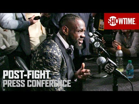 Wilder Vs. Breazeale: Post-Fight Press Conference | SHOWTIME CHAMPIONSHIP BOXING