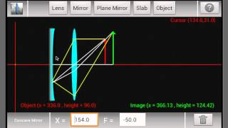 Ray Optics YouTube video