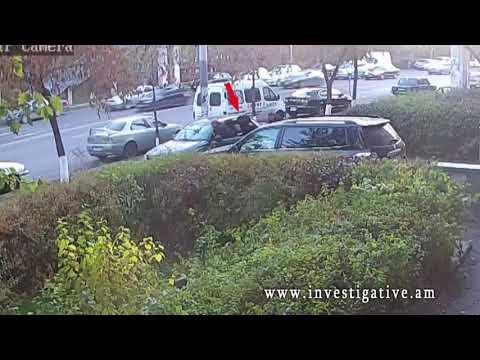 Ավտոմեքենայի սրահից գողացել են տեսախցիկ (տեսանյութ)