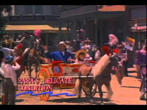 Papa's Delicate Condition Trailer 1963