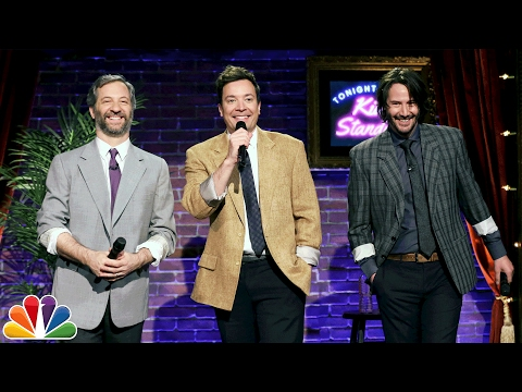 Kid StandUp with Keanu Reeves and Judd Apatow