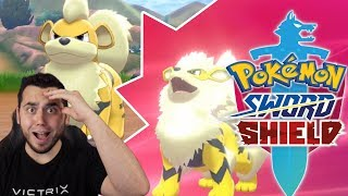 2 ENCOUNTERS INTO STREAM?! Shiny Growlithe and Arcanine in Pokemon Sword and Shield! by aDrive