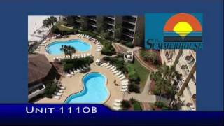 Unit 1110-B Summerhouse Condo Panama City Beach Vacation Rental