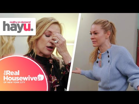 Leah Confronts And Goes OFF On Ramona | Season 12 | Real Housewives Of New York