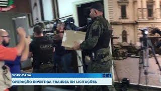 Gaeco e Polícia Civil investigam suspeita de fraudes em licitações na prefeitura de Sorocaba