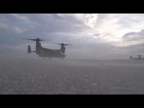 CV-22 Preflight/On-board Dusk Ops....