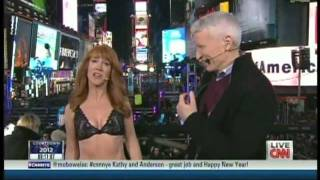 New Year's Eve Live 2012 Anderson Cooper Kathy Griffin Times Square New York (6/12)