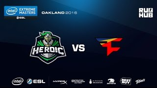 IEM Oakland - Heroic vs FaZe Clan - de_train - [CrystalMay, ceh9]