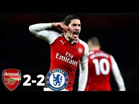 Arsenal vs Chelsea 2-2 - All Goals & Highlights - 03/01/2017