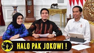 Video HALO PAK JOKOWI! with Desta & Gina in The Morning MP3, 3GP, MP4, WEBM, AVI, FLV Maret 2018
