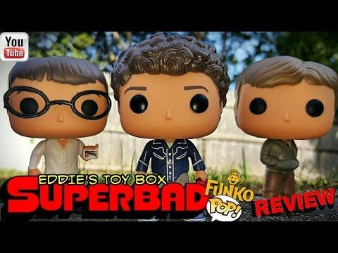 Superbad: Evan, Seth, and MCLovin Funko Pop! Review!