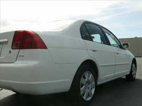 2002 honda civic ex sedan - 2002 Honda Civic EX Sedan w/Title Report.