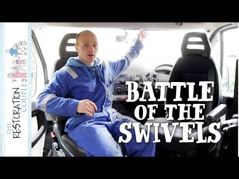 Why an Offset Swivel Seat? | TRC Van Conversion