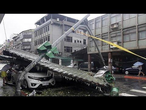 Ταϊβάν: Φονικός τυφώνας