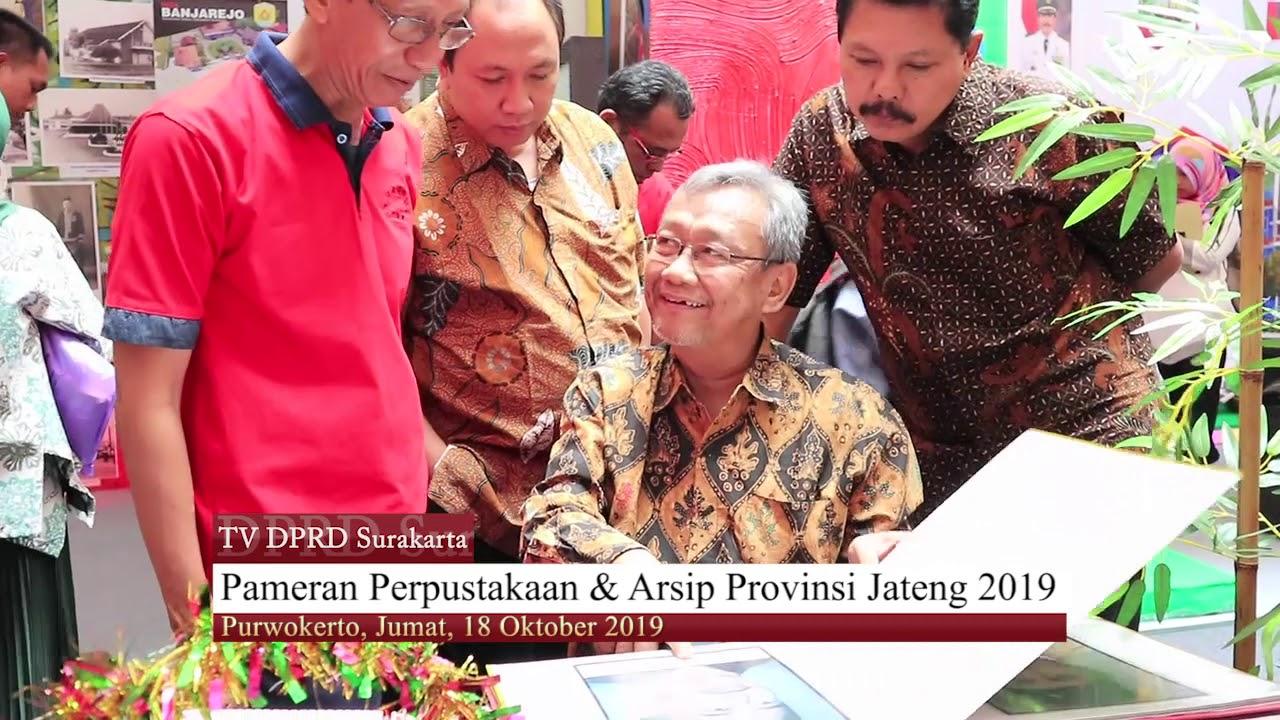 Jumat 18 Oktober 2019 Komisi IV Pendampingan Pameran Dinas Arpusda  Surakarta di Kabupaten Banyumas