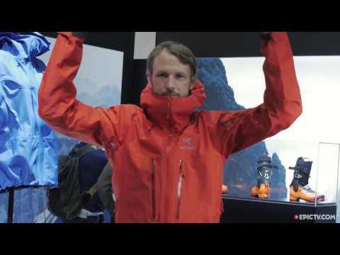 Arc'teryx New Lightweight Mountaineering Jacket, IPSO 2016   Climbing Daily, Ep. 649