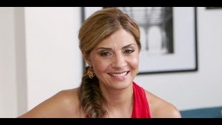 Callie Thorne Talks John Stamos&Necessary Roughness | Celebrity Interview | POPSUGAR