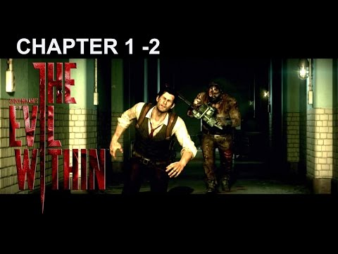 The Evil Within Walkthrough Chapter 1 -2 The Butcher (Gameplay PS4)