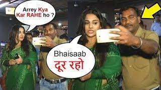 Video ANGRY Vidya Balan SHOUTS On FAN Touching Her BADLY At Airport MP3, 3GP, MP4, WEBM, AVI, FLV Juni 2018