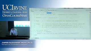 Engineering CEE 20: Engineering Problem Solving. Lecture 16
