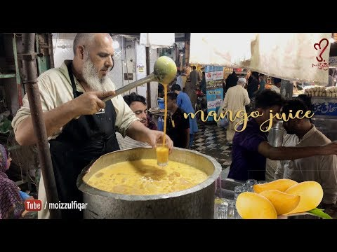 Mango Juice | MANGO SHAKE | Street Food of Karachi Pakistan