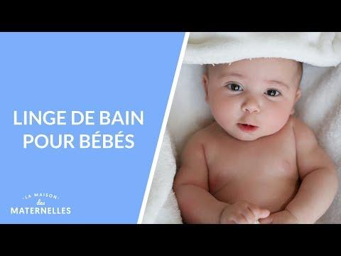 Linge de bain pour bébés - La Maison des Maternelles #LMDM
