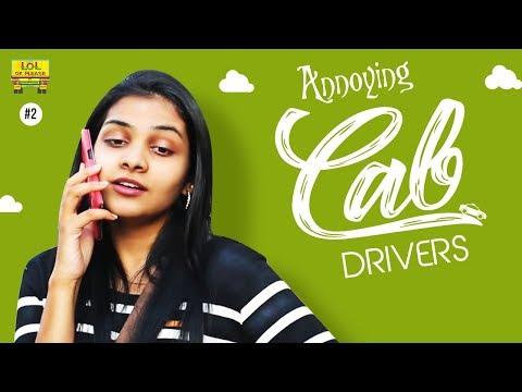 Annoying Cab Driver || LOL OK Please || #comedywebseries || Episode 2 || Telugu