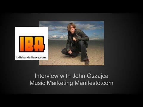Music Marketing Manifesto Interview with John Oszajca