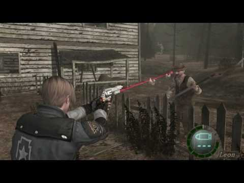 RESIDENT EVIL 4 SECRET WEAPONS