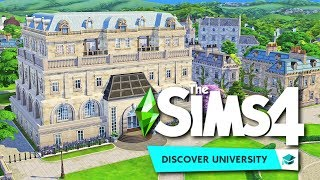 Renovating Drake Hall    The Sims 4 Discover University: Speed Build