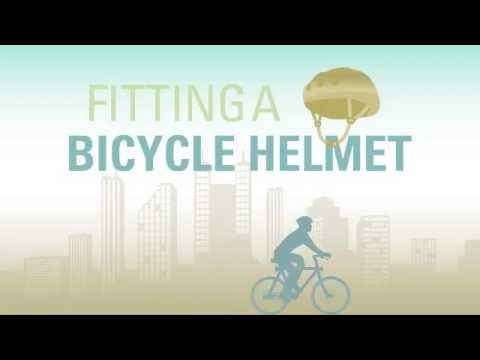 Fitting a Bicycle Helmet