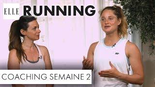 Candice Anzel du blog « Family-deal.com » a pour objectif de courir les 10 km de la course à pied « ELLE Run ». Seul problème, elle n'a pas fait de sport de depuis des années. Pendant deux mois, elle va alors s'entraîner avec Marine Leleu, sportive émérite arrivée seconde à l'Ironman en 2015. Voici la deuxième séance de coaching.Abonnez-vous à la chaîne ELLE : http://bit.ly/YouTubeELLERetrouvez ELLE, le magazine féminin de la mode, de la beauté et de toute l'actualité des femmes sur : Elle.fr : http://www.elle.frElle Vidéo : http://videos.elle.frFacebook : https://www.facebook.com/elleTwitter : https://twitter.com/ELLEfrancePinterest : http://www.pinterest.com/magazineellefr/REMERCIEMENTS :Marine Leleu Instagram : https://www.instagram.com/marinlle/?hl=frYoutube : https://www.youtube.com/channel/UCqK1waQtKyHfjEEtMfxvudgCandice AnzelFaceboook : https://www.facebook.com/mamanimparfaites/Site : http://www.family-deal.com/Insta :  candice_mamgyverProduction : LEDCopyright : ©ELLE 2017