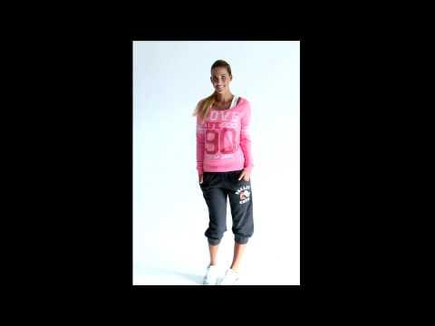 Lorna Jane: Oxford Long Sleeve Sweat & Abby 2/4 Trackie
