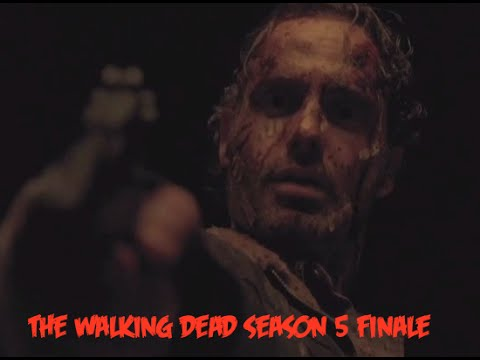the walking dead -  finale 5 stagione