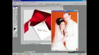 Học Photoshop : Ghép ảnh Người Vào Khung Và Design