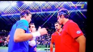 Tennis Highlights, Video - Match Point Bozoljac I. / Zimonjic N.vs Berdych T. / Stepanek R. 3-0