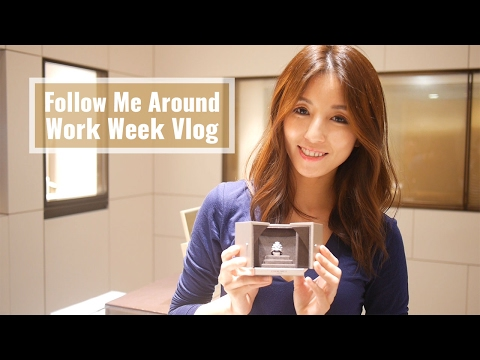 Follow Me Around-Work Week Vlog