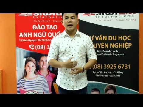Phỏng vấn cảm nghĩ du học sinh Trịnh Khải Vinh
