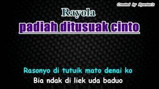 Karaoke Rayola   Padiah Ditusuak Cinto KN7000 Sampler