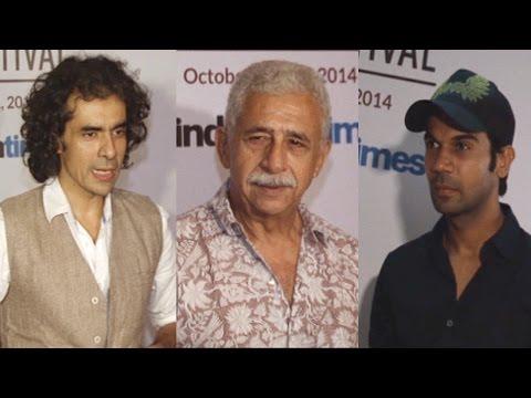 Rajkumar Rao, Naseeruddin, Imtiaz Ali At MAMI Film Festival