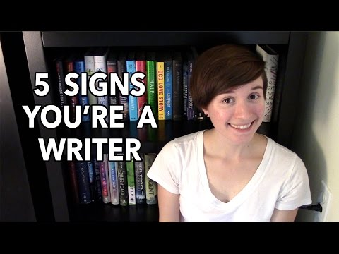 5 Signs You're a Writer